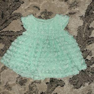 3D Rosette Dress